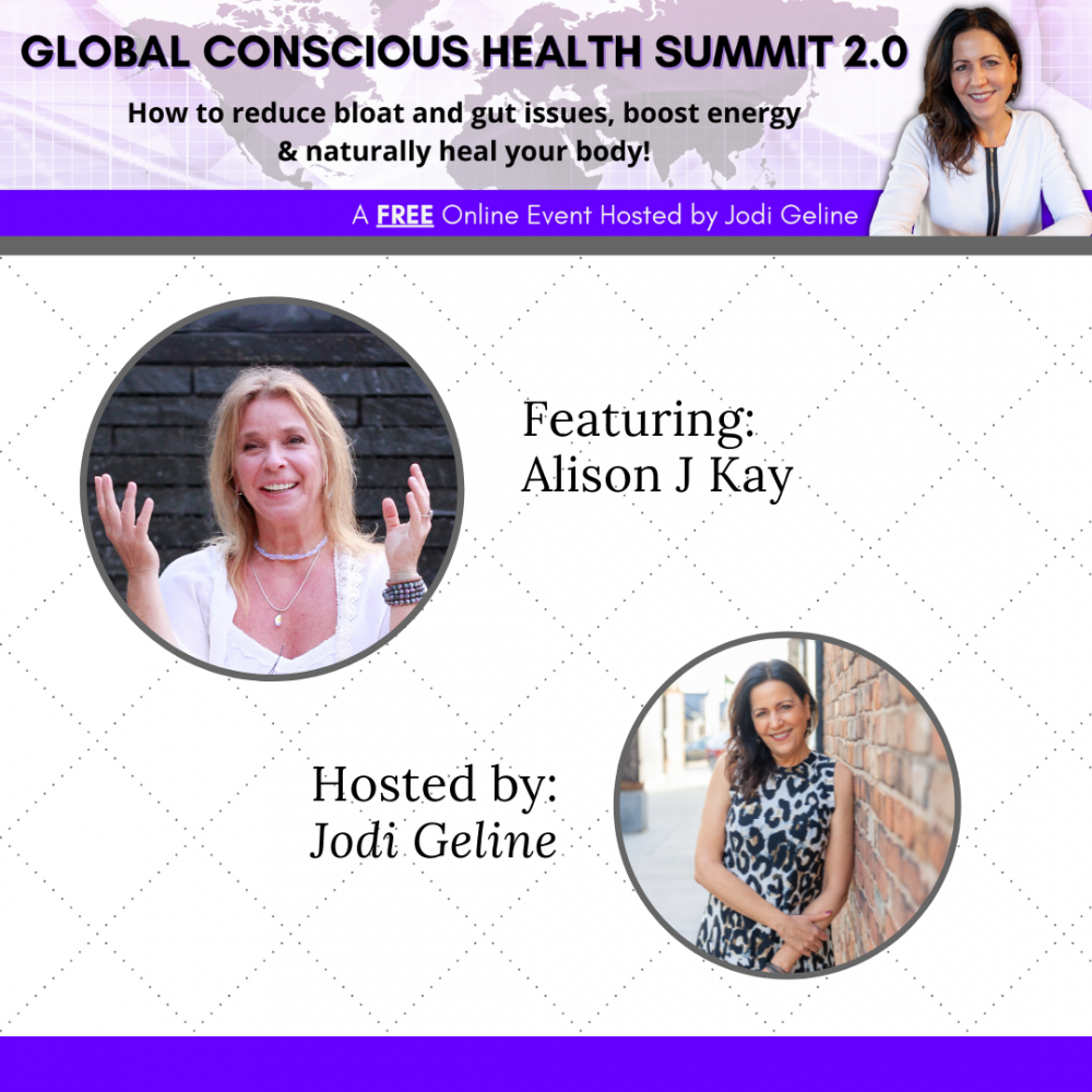 global conscious health summit 2021 promotional image